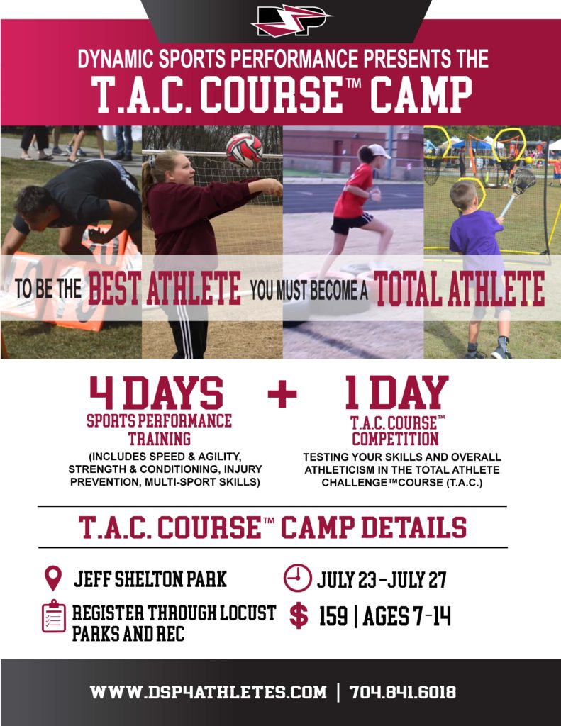 T.A.C Course Camp Flyer