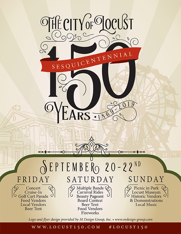 150 Year Celebration Flyer